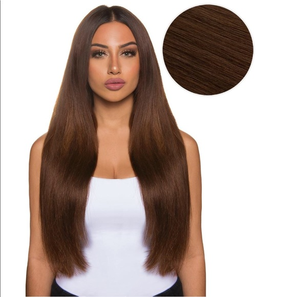 Bellami Accessories 22inch Hair Extensions In Chocolate Brown